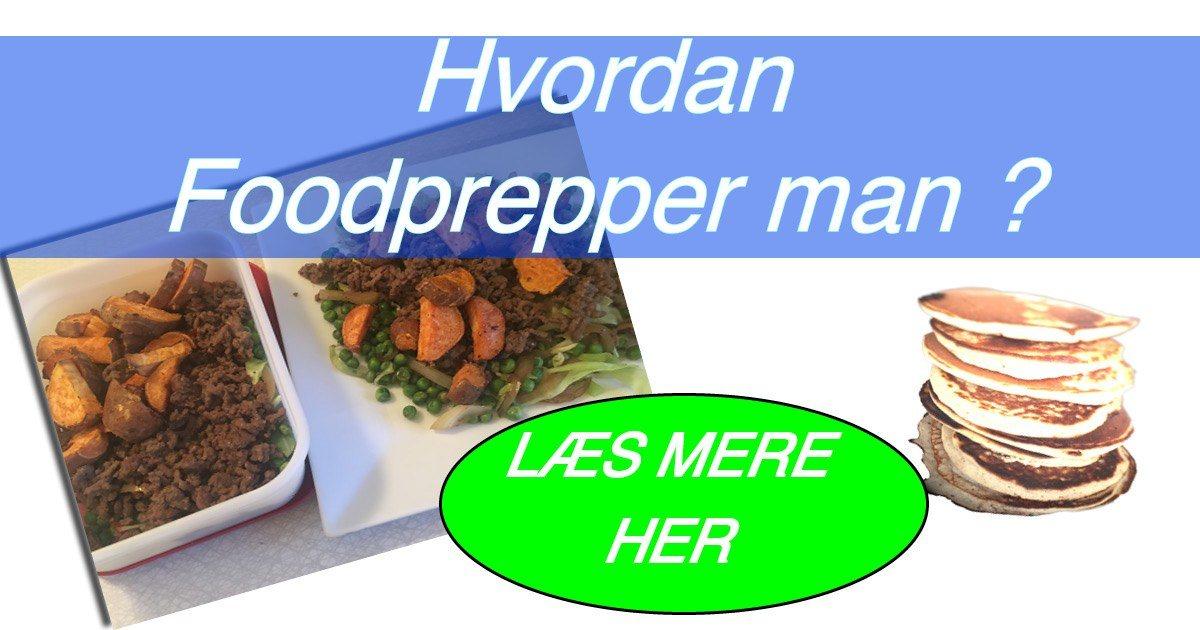 Af modish Hvordan Foodprepper man? Og hvad er foodprep? QN35