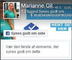 Marianne Gilbak - coach og personlig træner i Aalborg
